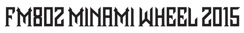 FM802 MINAMI WHEEL 2015